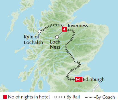 Edinburgh Scotland South cruising map with gay areas and spots