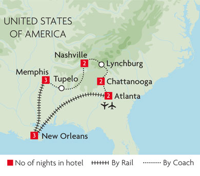 Tours of United States of America