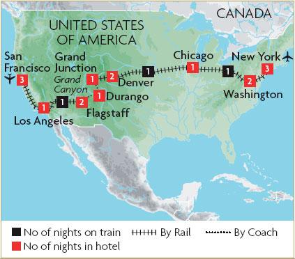 Charming Holiday Usa Tour