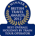 2012 British Travel Awards - Best Overall Holiday By Rail Operator