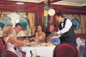 Dining on the Royal Clipper