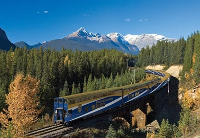 Canada & the Rocky Mountaineer train tour