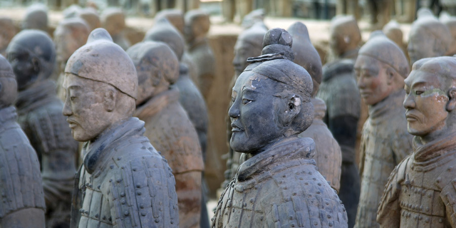 Grand Tour, Xian Terracotta Warriors