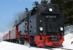 Brocken Railways in Winter