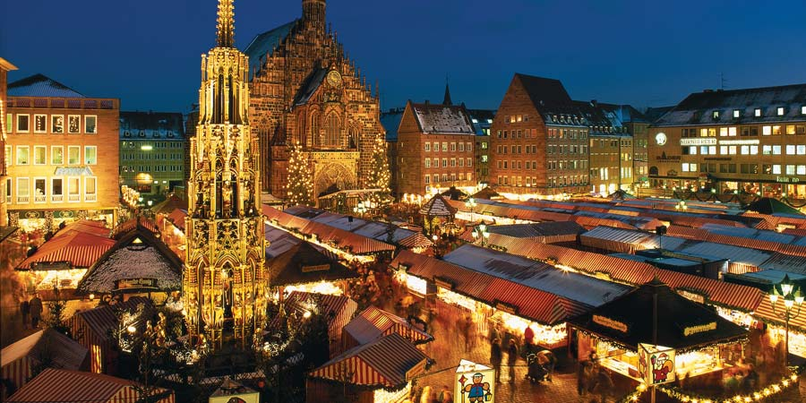 Nuremberg Christmas Market.Bavarian Christmas Markets Tour Great Rail Journeys