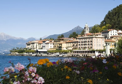 Beside Lake Como