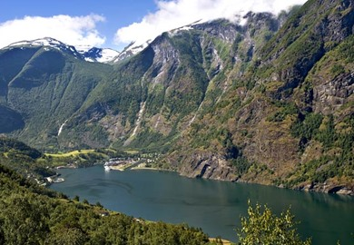 Fjords of Norway rail tour
