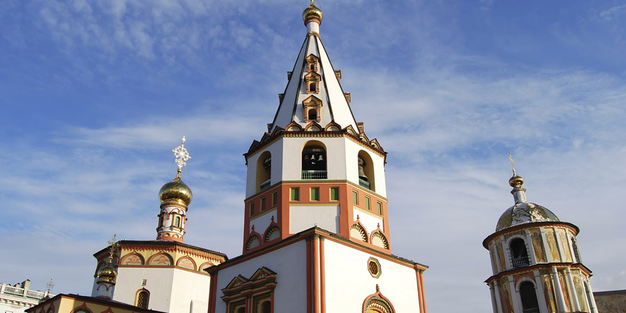 Irkustsk Orthodox Cathedral