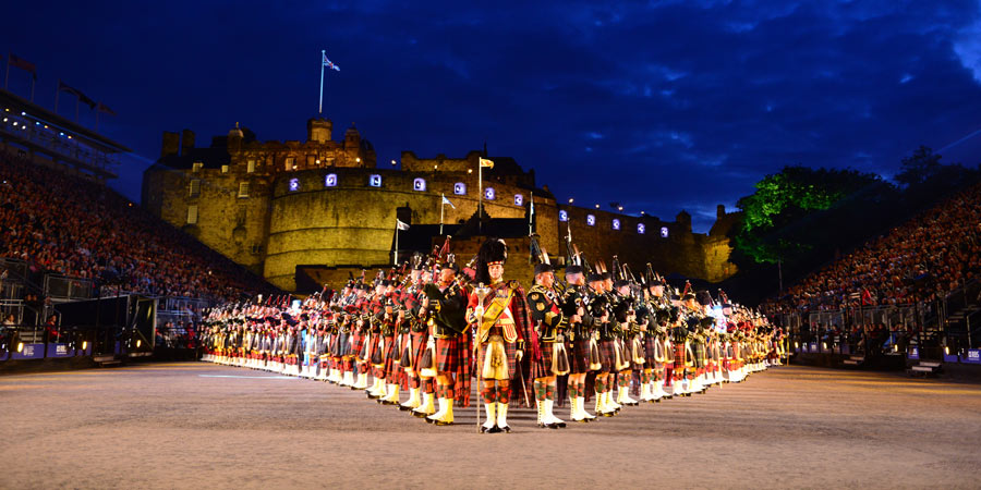 Edinburgh tattoo tour great rail journeys for Royal military tattoo
