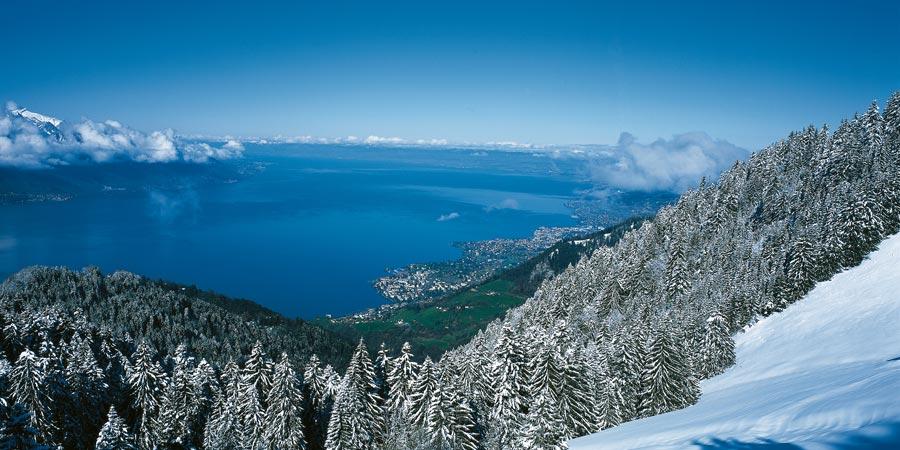 Festive Lake Geneva Amp Mont Blanc Express Christmas