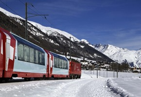 Traditional Glacier Express