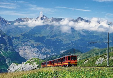 Jungfrau Express in Winter