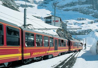 Interlaken & the Jungfrau Express at New Year