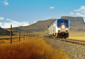 California Zephyr train