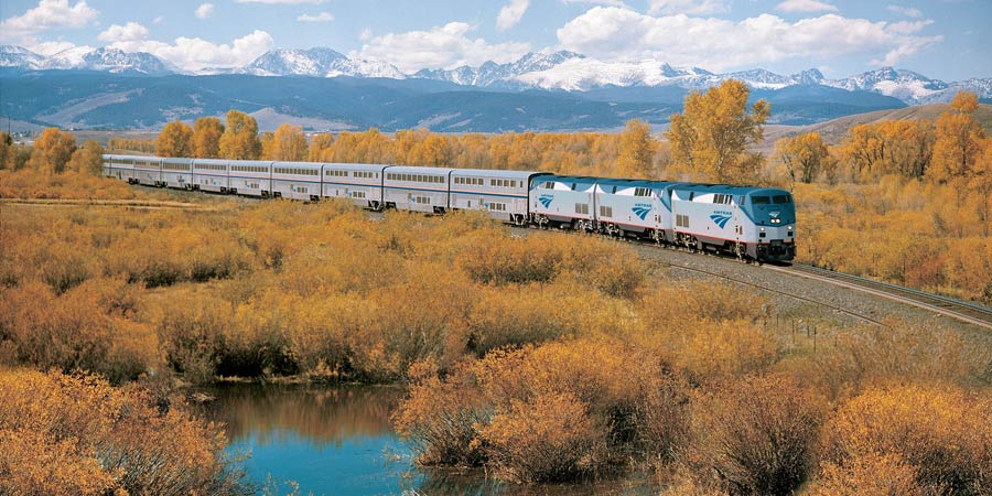 The California Zephyr train
