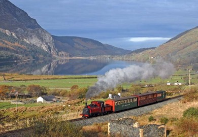 Railroads & Castles of Wales