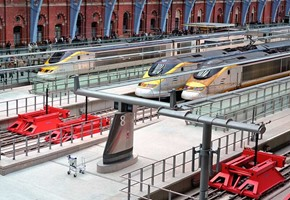 St Pancras and the home of the Eurostar