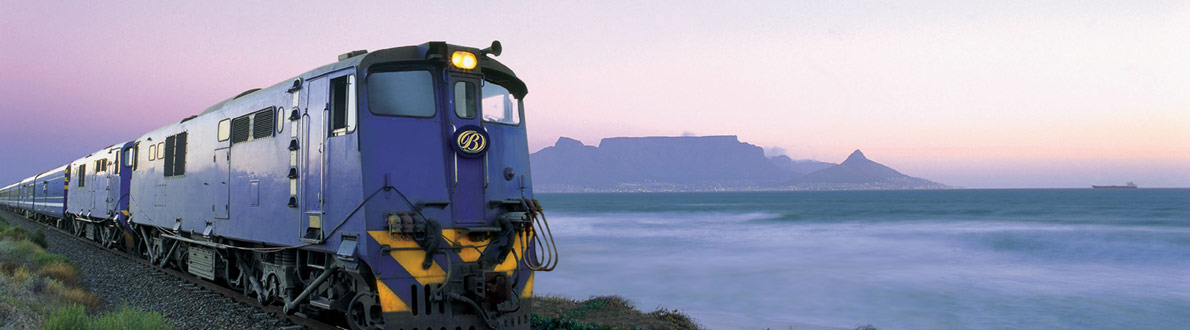The Blue Train and Table Mountain