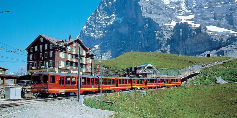 Wengen & the Jungfrau Express