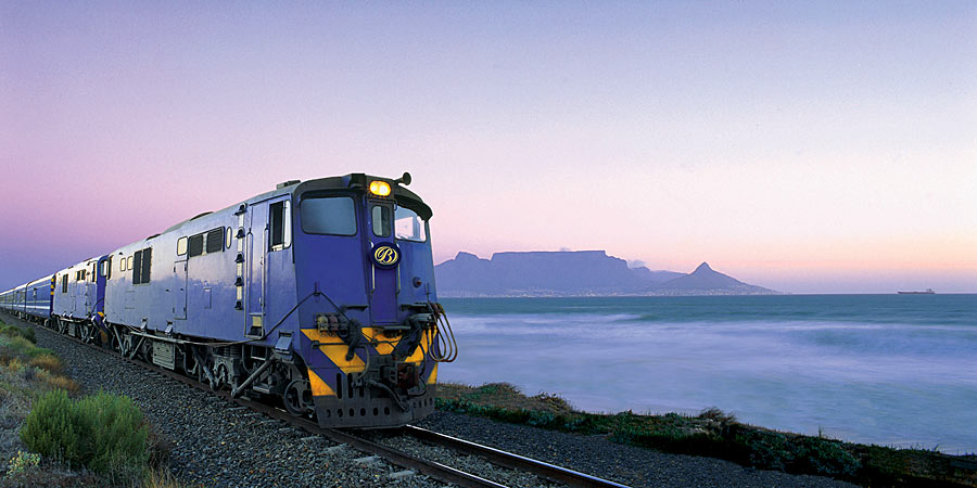 Blue Train Table Mountain, South Africa