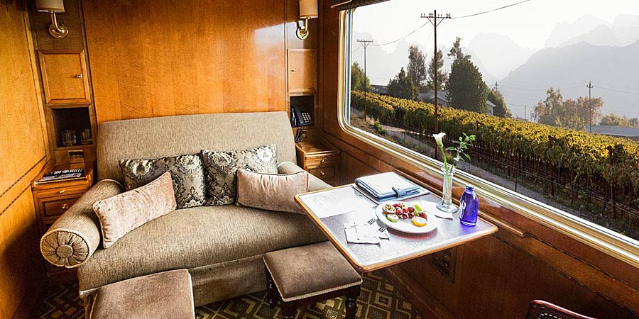 Deluxe Cabin on the Blue Train