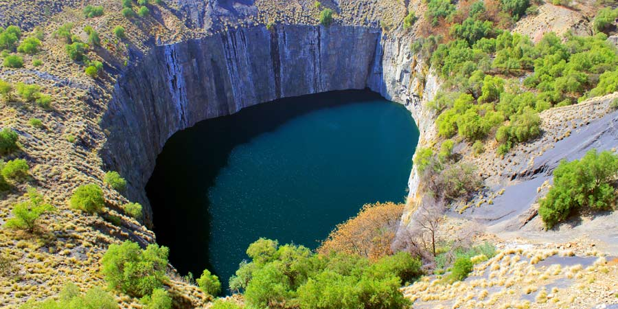 Kimberley Diamond Mine 'Big Hole'