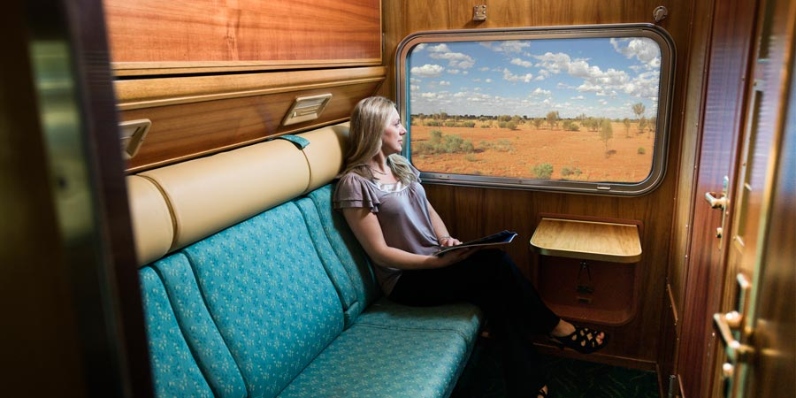 The Ghan Gold Service Cabin