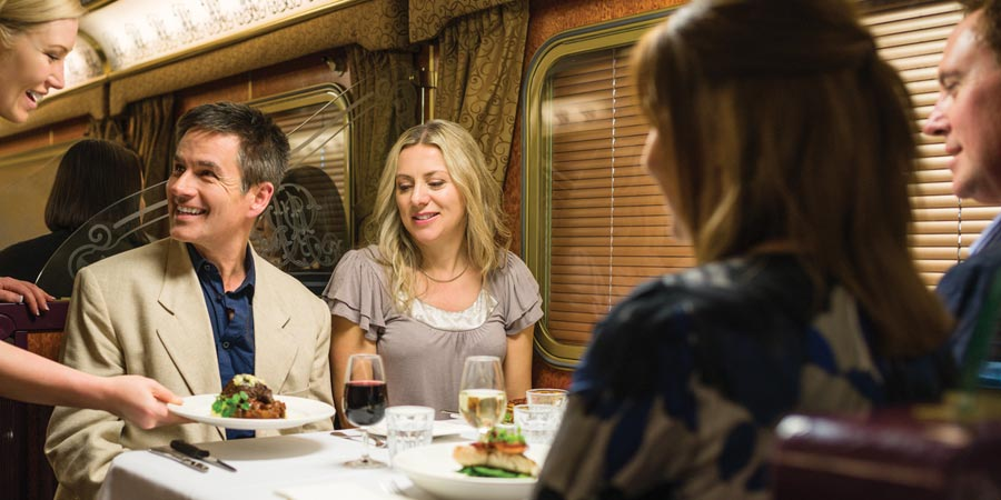 The Ghan Restaurant Car