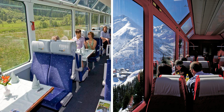 glacier express rail tours great rail journeys. Black Bedroom Furniture Sets. Home Design Ideas