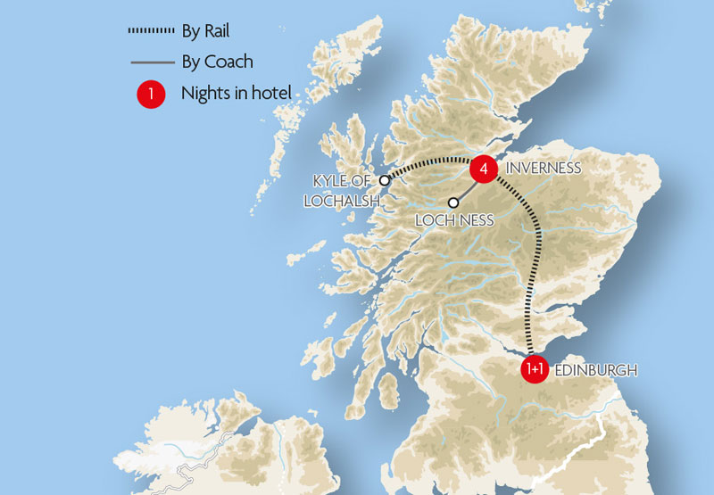 UK And Ireland Train Holidays and Tours – Train Travel In Ireland Map