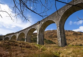 West highland Line Glefinnan Viaduct