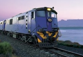 Travelling on the Blue Train