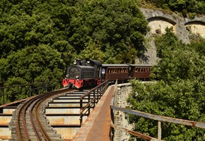 The Little Train of Pelion
