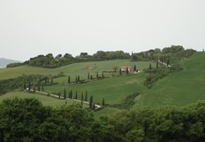 Renaissance Landscapes on the road to Pienza