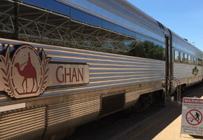 The Ghan – Alice Springs to Adelaide