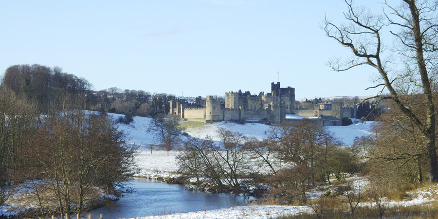 Alnwick in winter
