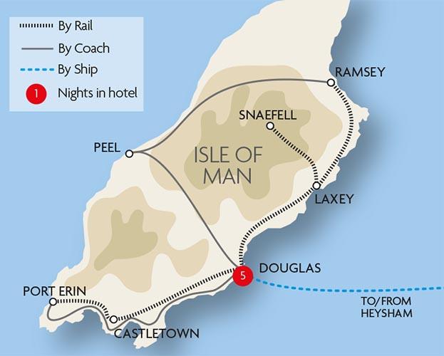Vintage Isle Of Man 91