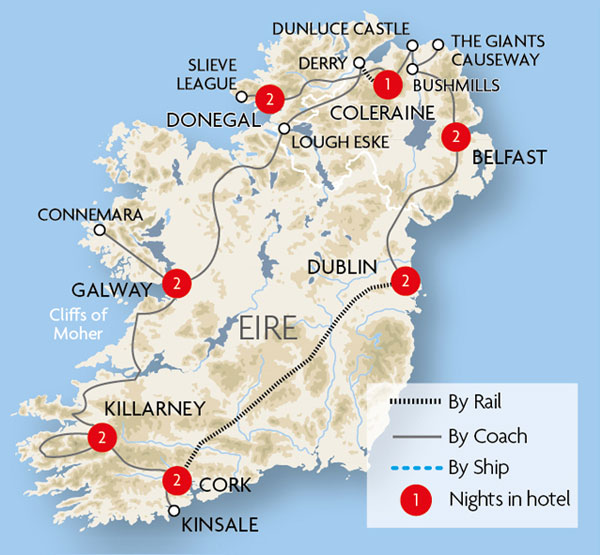 Actons Kinsale Cork Great Rail Journeys
