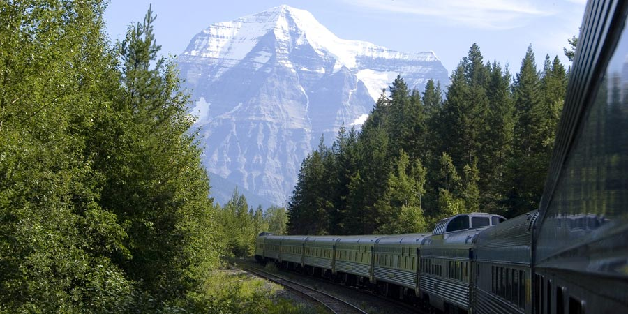 The Canadian train
