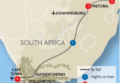 Cape Town, the Blue Train & Kruger