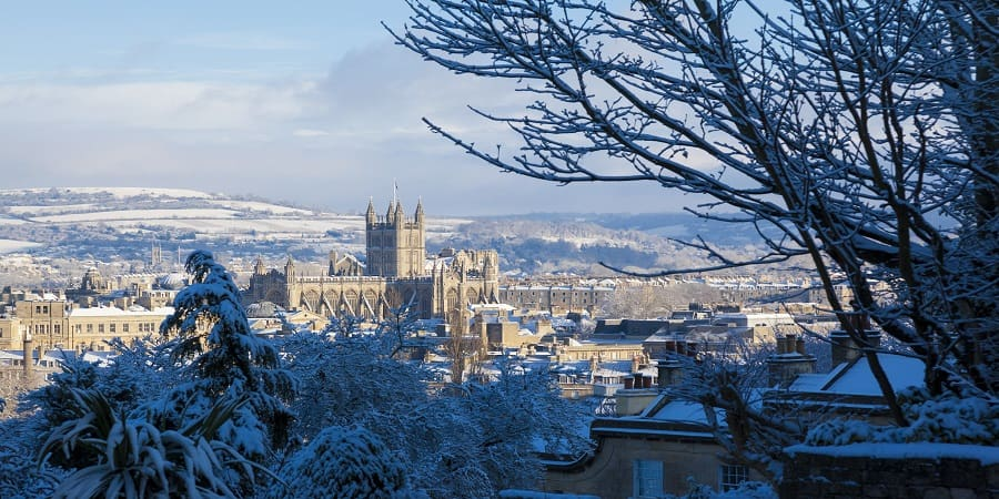 Bath in Winter