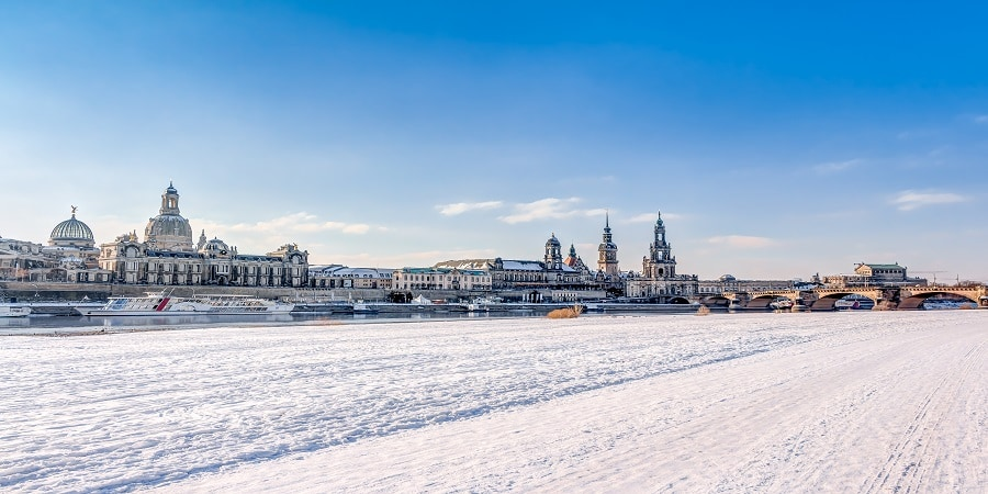 Dresden in Winter