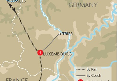 Luxembourg, Trier & Metz Christmas Markets 2016