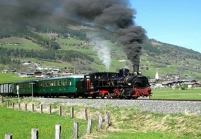 Pinzgaubahn Steam Train