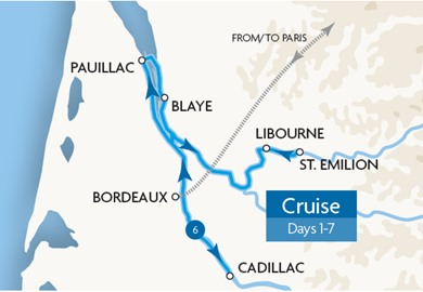 Garonne & the Dordogne Cruise
