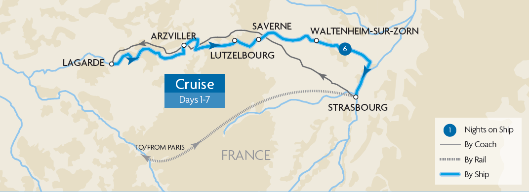 The Waterways of Alsace Lorraine Great Rail Journeys