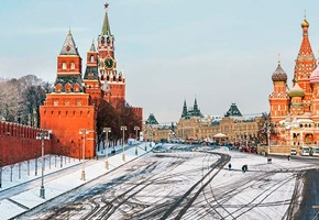 Moscow – St Petersburg in Winter