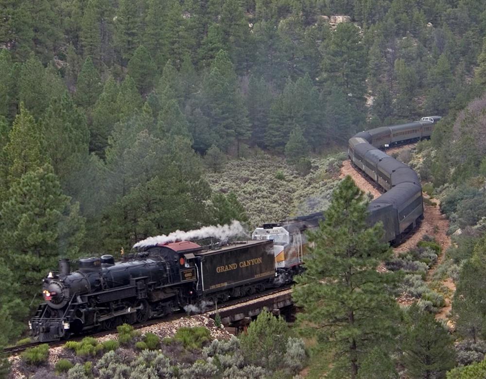 Grand Canyon Railway >> Grand Canyon Railroad Rail Tours Great Rail Journeys