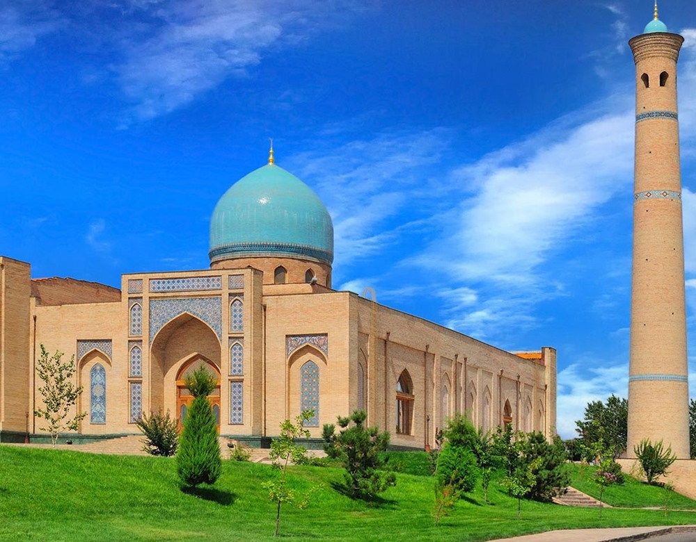 The Ancient Silk Road to Samarkand