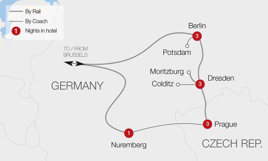 Berlin Dresden Prague Tour Great Rail Journeys